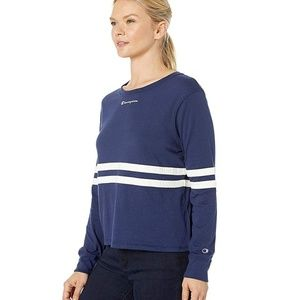 Champion Tops - Champion Heritage Long Sleeve Pullover Tee